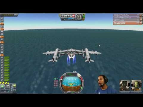 Twitch Highlight: Day 2 Test of Upper Atmosphere Taxi with Milano II