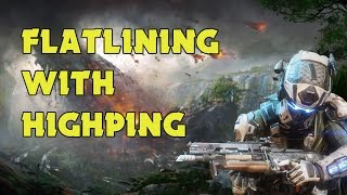 TITANFALL 2: FLATLINING WITH HIGH PING (300ms)