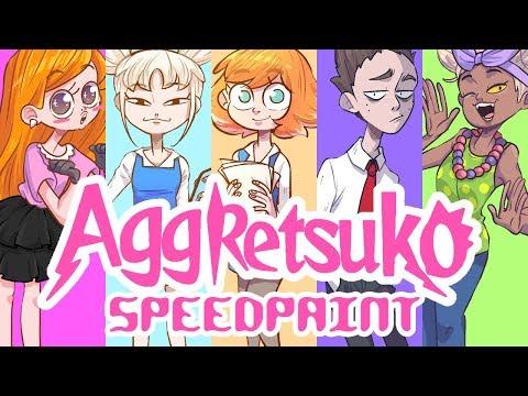 Aggretsuko (humanization)