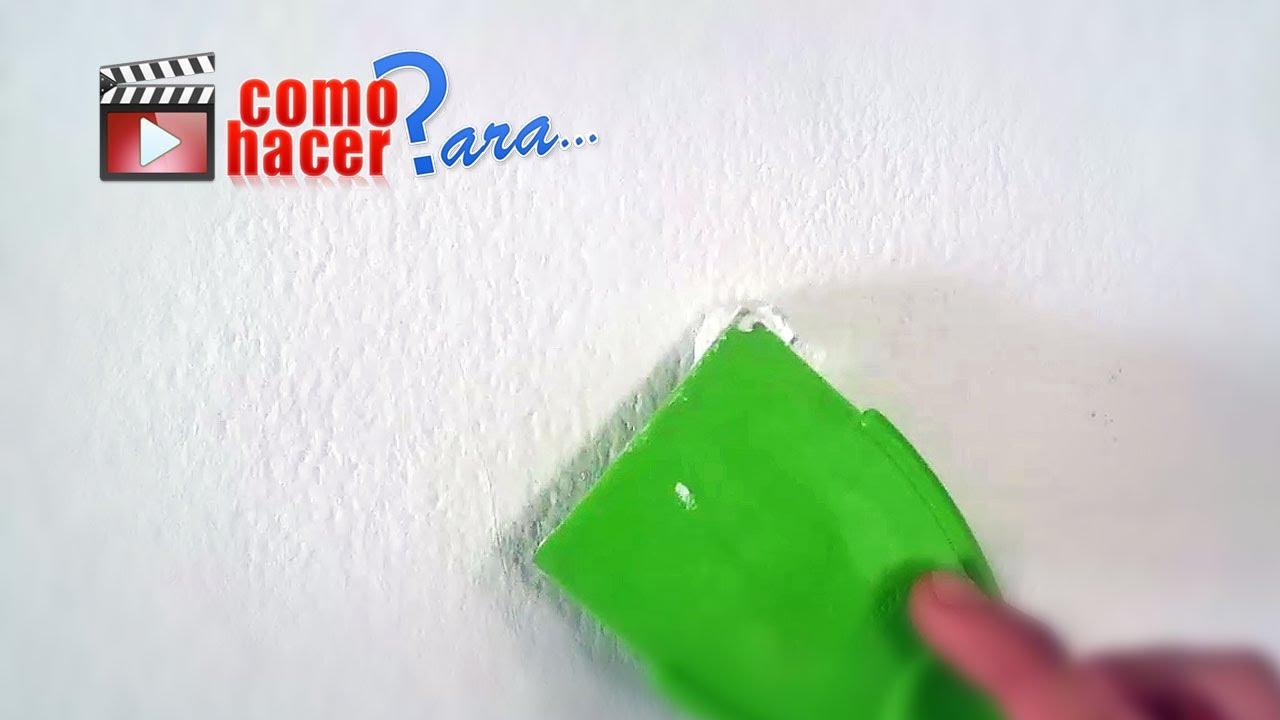 Cómo Aplicar Enduido Plástico - YouTube