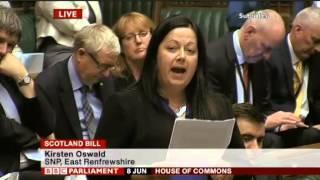 Kirsten Oswald SNP East Renfrewshire maiden speech