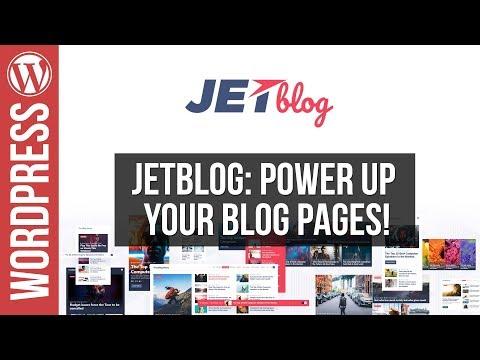 Build Custom WordPress Blog Layouts with Jetblog for Elementor - 동영상