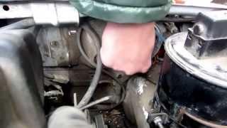 Установка и подключение биксеноновых ламп Mitsumi на автомобиль Славута своими руками