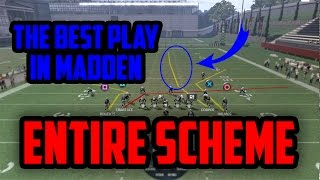 ULTIMATE CHEESE GLITCH PLAY IN MADDEN | ENTIRE SCHEME WITH ONE PLAY | Madden 17 Tips