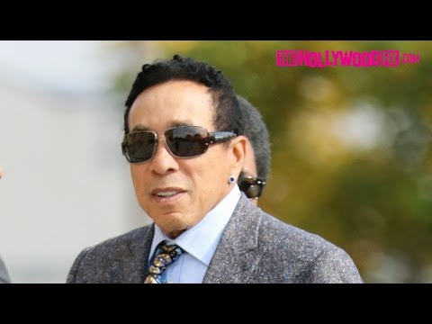 Smokey Robinson Arrives To Natalie Cole's Funeral In Los Angeles 1.11.16 - TheHollywoodFix.com