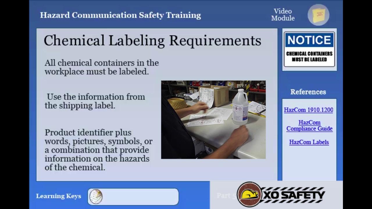 Understanding hazard communication labeling requirements youtube understanding hazard communication labeling requirements biocorpaavc Choice Image