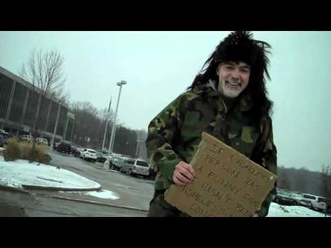 Homeless Guy With Golden Radio Voice - WTAM