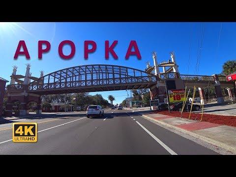 Driving to Apopka on Ocoee Apopka Rd