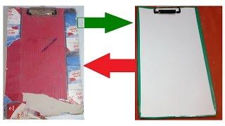 Exam Pad LIFEHACK | Convert Old Pad Into New One | Exam Pad Tricks