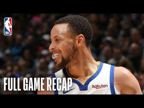 WARRIORS vs TIMBERWOLVES | Stephen Curry Drops 36 Points In Minnesota | March 19, 2019