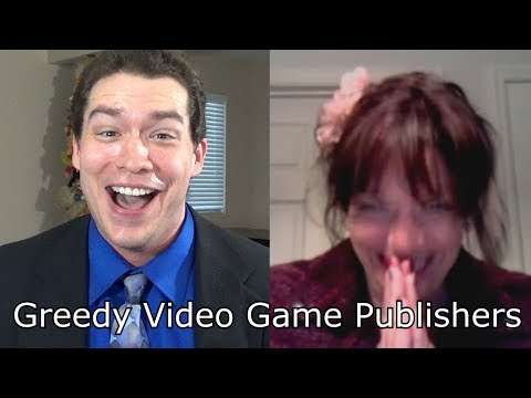 ALL the Money!!! - Greedy Video Game Publishers Look To EA