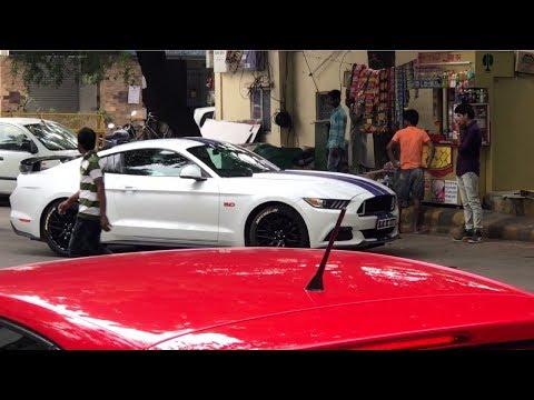 Mustang Got Busted In DELHI😱😱 | Supercars Meet | NASA