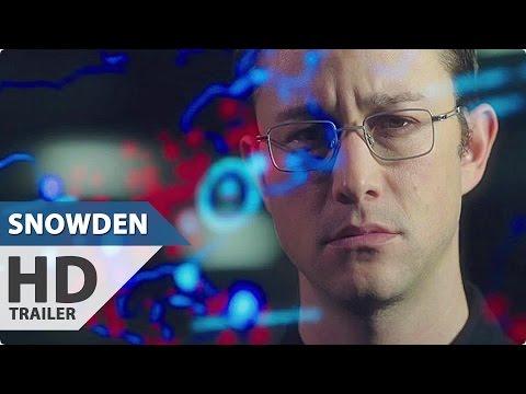 Snowden Trailer (2016) Joseph Gordon-Levitt NSA Thriller Movie HD