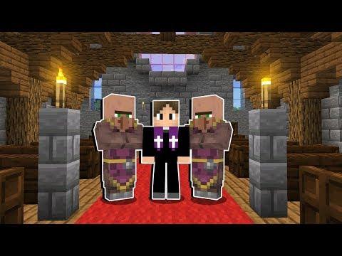 Minecraft Origens #59: A DECORAÇÃO DA IGREJA FICOU LINDA! CONFIRA!