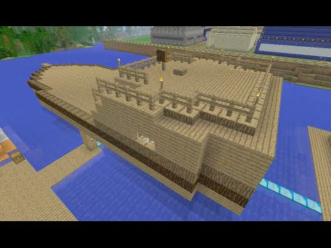 Building Stampy's Lovely World [103] - The SS Stumpy (Part 1)