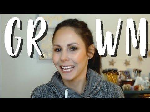 GRWM To Film - GREEN EYE LOOK | Bare Bohemian