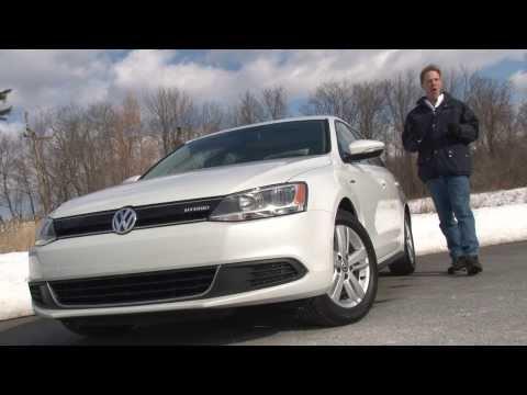 2014 Volkswagen Jetta Hybrid - TestDriveNow.com Review by auto critic Steve Hammes