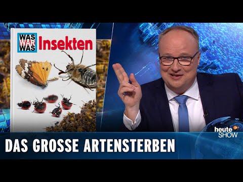 Artensterben: Die Natur hat keine Chance gegen Arschlöcher wie uns | heute-show vom 10.05.2019