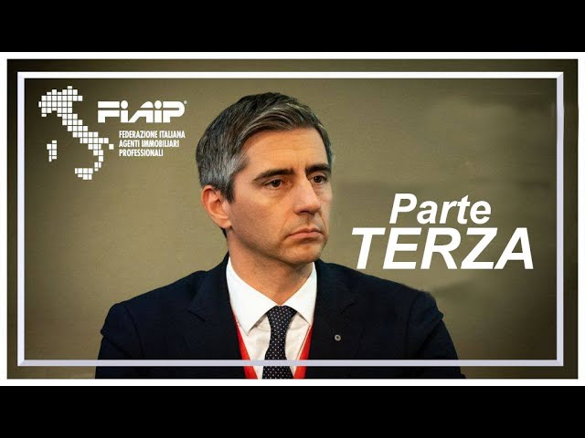 Emergenza COVID-19: Comunicazione del Presidente Fiaip Gian Battista Baccarini -  Parte 3^
