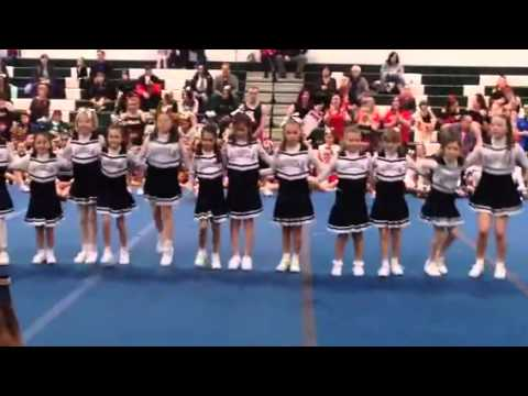 Holy Angels regional school 3rd & 4th grade cheer showcase