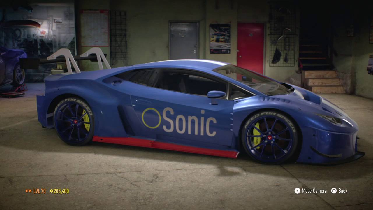 Nfs 2015 Sonic The Hedgehog Car Youtube
