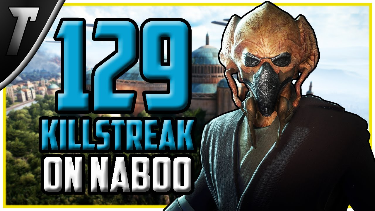 Star Wars Battlefront 2 Plo Koon 129 Killstreak (Naboo)