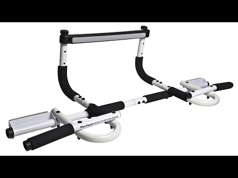 Perfect Multi-Gym Pro Doorway Pull Up Bar & Gym Assembly, In