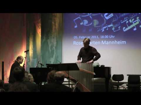 Benefiz Konzert 2005, Jens Schlichting, Piano and Philipp Marguerre, Verrophone: Szymanowski