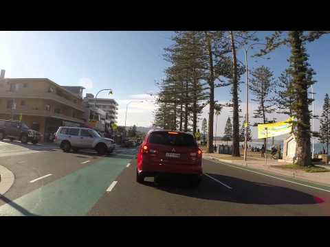 quick ride to maccas through manly, curl curl and dee why beaches