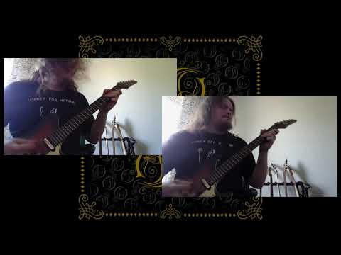 Opeth - Deliverance - Guitar Cover By Nikke Kuki (Both Guitars)