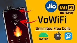 How to activate Jio Wifi Calling Using Mobile Hotsport | VoWifi Calls | Unlimited Free Calls