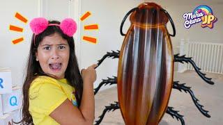 JP assusta Maria Clara com uma barata gigante! Funny story with cockroach