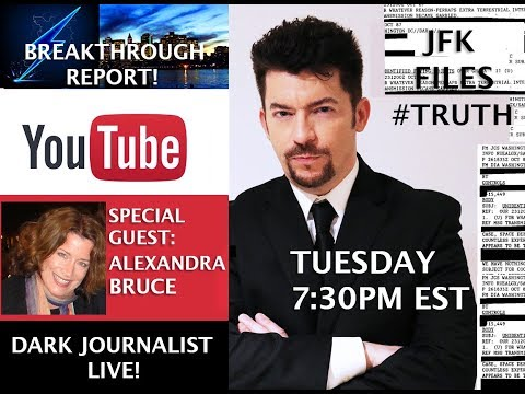 DEEP STATE UFO SECRECY & MEDIA BLACKOUTS! JFK2017 REVELATIONS! DARK JOURNALIST & ALEXANDRA BRUCE