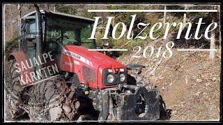 Forst / Holzernte - Kurzeinblick 2018 , Saualpe Kärnten