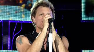Bon Jovi   Bed of Roses   Solder Field Chicago   July 12, 2013