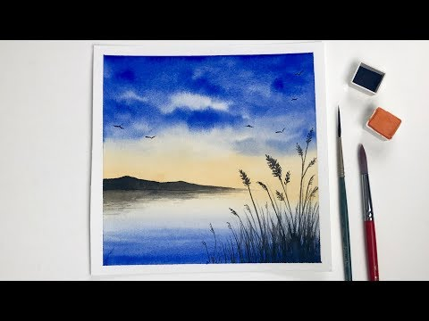 Step By Step Watercolor Painting For Beginners Simple