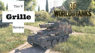 Grille tank review World of Tanks