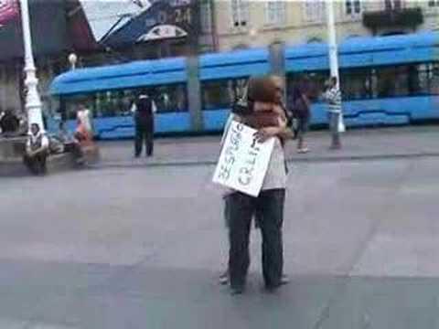 FREE HUGS ZAGREB 2007 Part 1