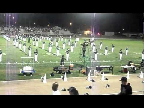 Manteca High School Band Half-Time Show 9/7/12