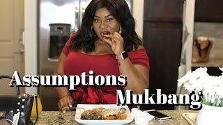 ASSUMPTIONS ABOUT ME   African Mukbang, kids, divorce