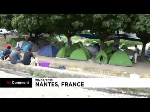 Tribunal ordena evacuação de migrantes acampados num parque