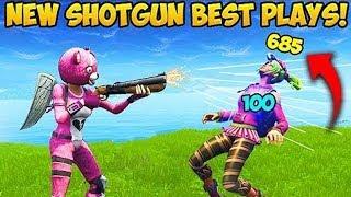 Reaktion auf *NEUE BROKEN* SHOTGUN und NINJA PLAY! in Fortnite