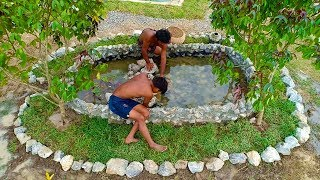 Build Stone Fish Pool