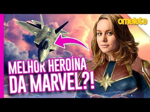 CAPITÃ MARVEL: A MELHOR HEROÍNA DA MARVEL?