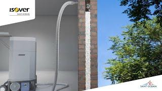 Insufflaggio in intercapedine: isolare le pareti con la lana di vetro Isover InsulSafe33