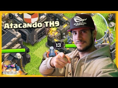 APROVECHA LAS DIFERENCIAS - ATACANDO TU ALDEA TH 9 #60 - CLASH OF CLANS