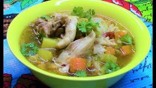 Хашлама с курицей  - легко , просто , быстро и вкусно ! Или шурпа , или овощное рагу с курицей .