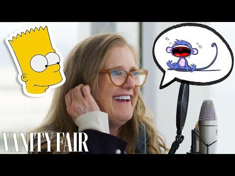 Nancy Cartwright (Bart Simpson) Improvises 8 New Cartoon Voices   Vanity Fair