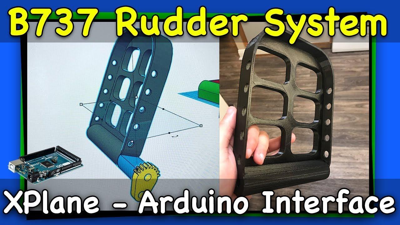 737 Rudder System part 1 | Arduino with Xplane 11