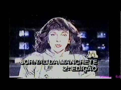 Chamada Jornal da Manchete - Segunda Edição 1987